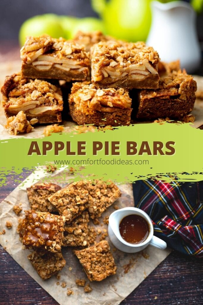 Pin image for apple bars