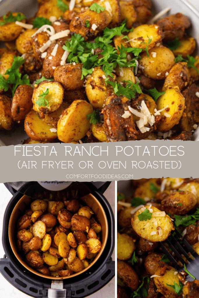 Pinterest Pin for Fiesta Ranch Potatoes