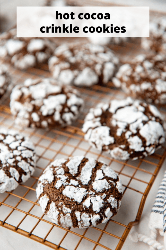 Cooling rack with Chocolate Cookies